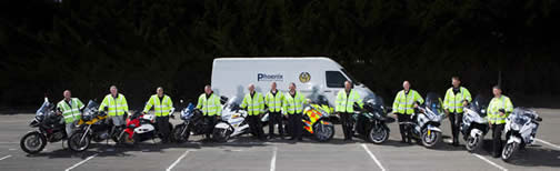 The Phoenix Motorcycle Training centre owners