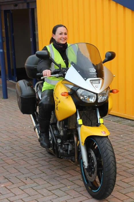 Leanna Moore Instructor Phoenix Motorcycle Training Bristol and Wells