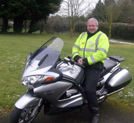 Steve Whitfield Instructor Phoenix motorcycle training Amesbury