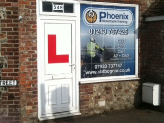 Phoenix Motorcycle Training West Sussex Office