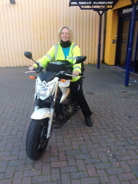chris Dunn Instructor Phoenix Motorcycle Training Bristol and Wells