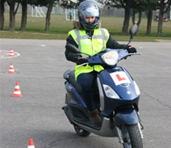 Scooter training